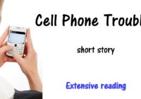 Cell phone troubles short story